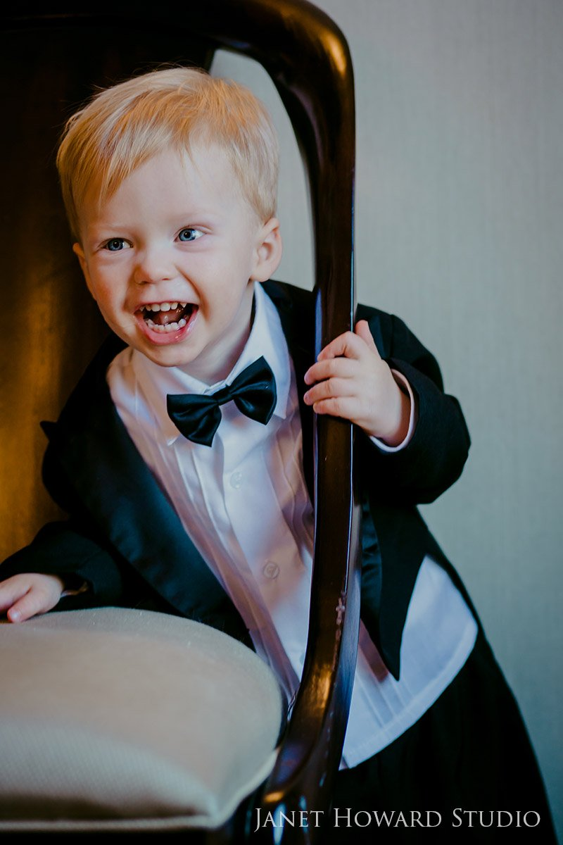 Toddler Photo Session Portrait