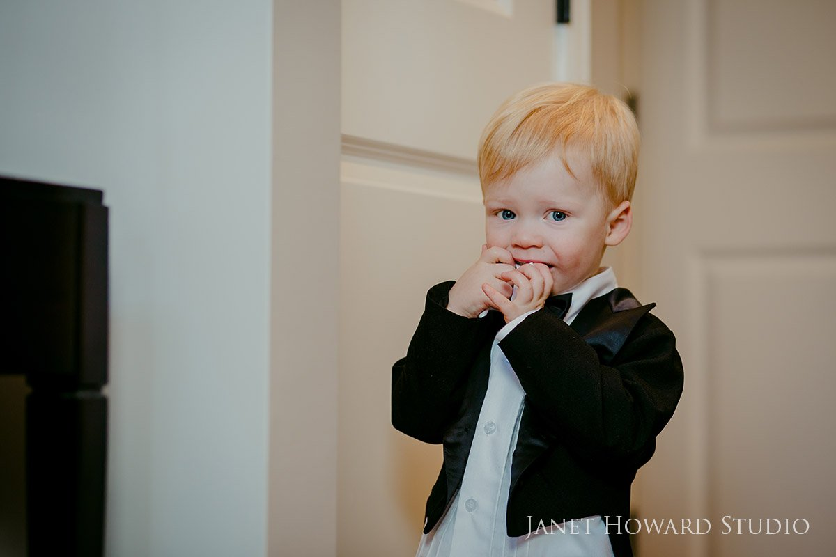 Toddler portrait session