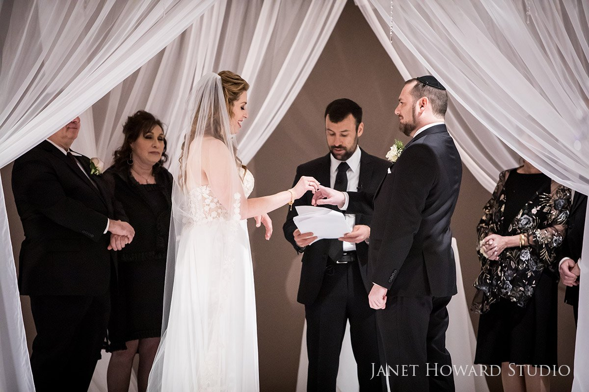 Exchange of the Rings Under the Chuppah