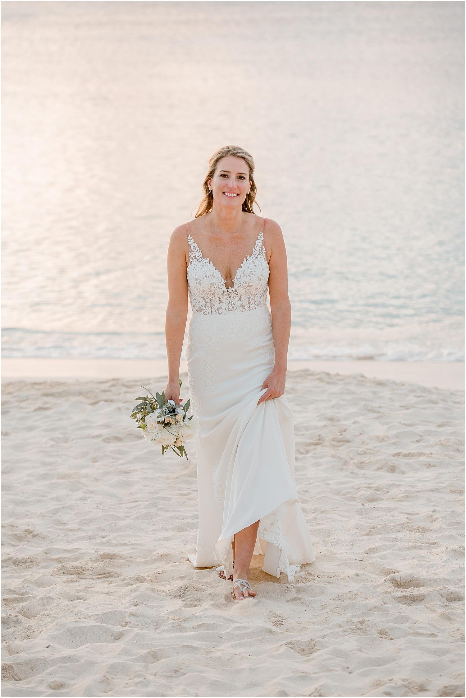 cayman bridal portrait