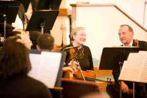 Ed and Me in Cincinnati Civic Orchestra