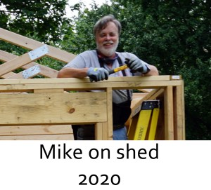 Mike on shed