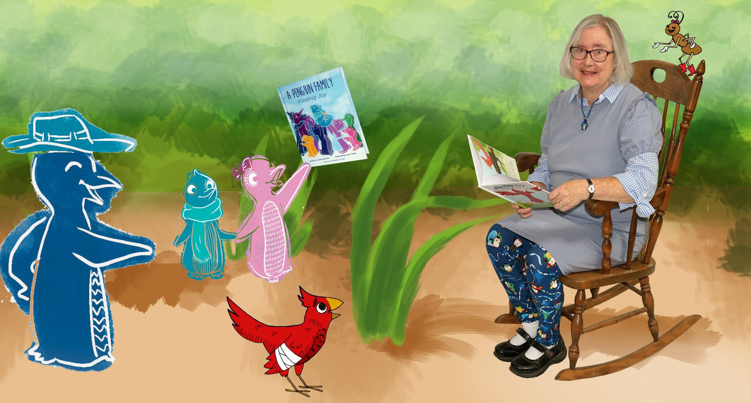 Janet Kassalen reading