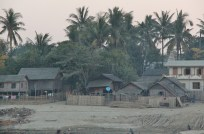 Village at sunrise.