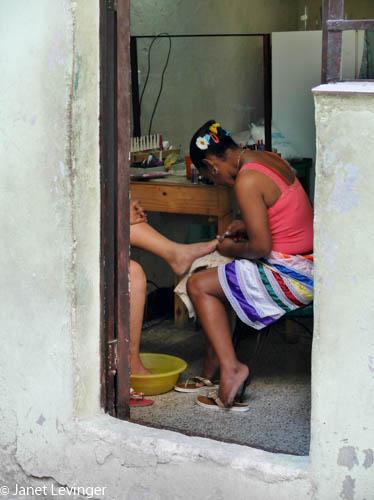 Pedicure in Havana