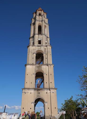 Road to Trinidad tower on sugar plantation