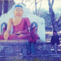 SWAYAMBHU MONKEY TEMPLE - the spiritual and then the high spirits of partying Swaggies, Kathmandu 1976