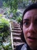 Ohhhhh shittttt, stairs