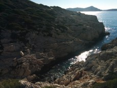 This is what a calanque looks like