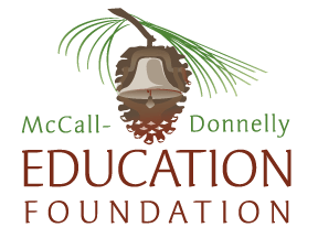 Logo design and digital illustration for McCall Donnelly Education Foundation..