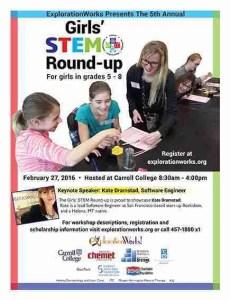Girls' STEM poster