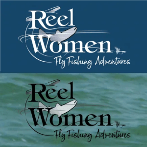 Logo Refresh for Reel Women Fly Fishing Adventures Website