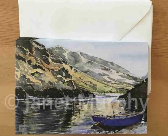 Shop Blue-Drift-Boat-4pack-cards copyright J.Murphy