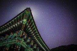 Jirisan Tempke at night