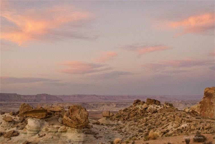 landscapes, Arizona, hoodoos, skies, desert