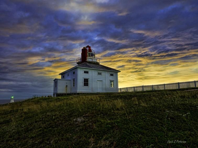 seascape, sunrise, lighthouse, architecture, landscape, NL