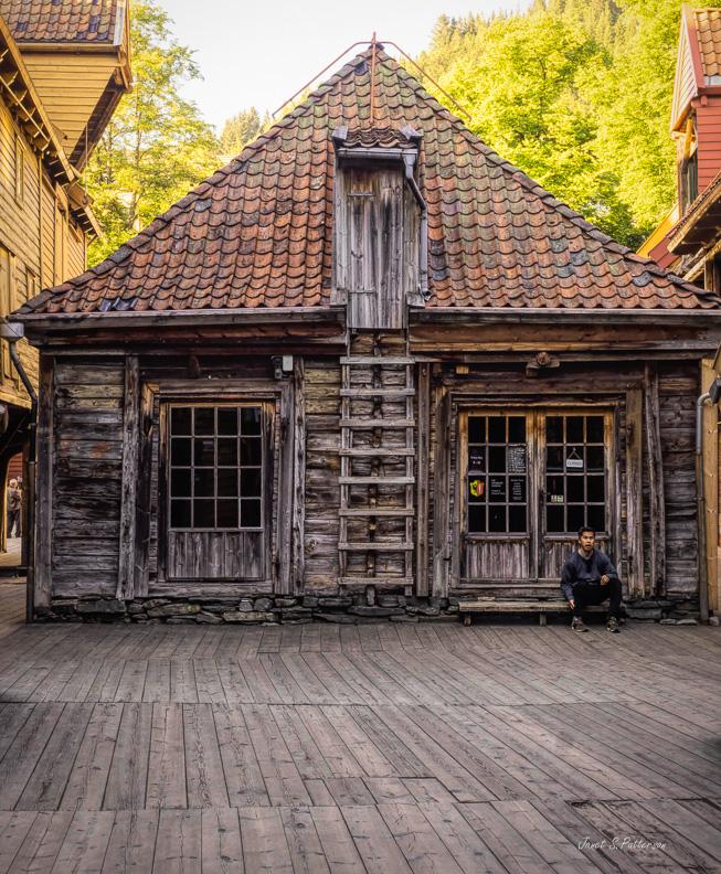 architecture, Hanseatic, Bryggen, Bergen, Norway