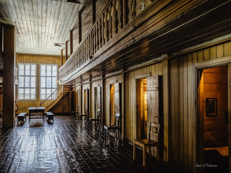 architecture, leprosy hospital, St. Jorgen's, internal, museum, Bergen, Norway