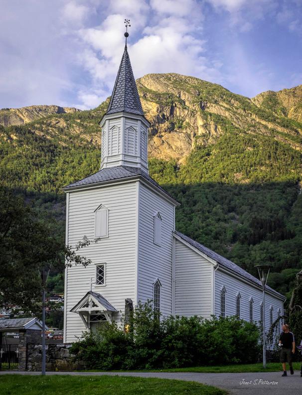 architecture, church, 1870, Odda, Norway