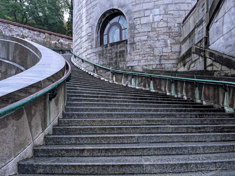 Stairs, architecture, St. Joes' Oratory, Montreal, 2019
