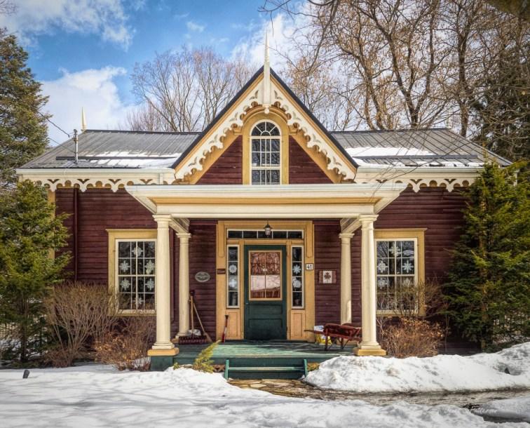 architecture, house, Uxbridge, winter,