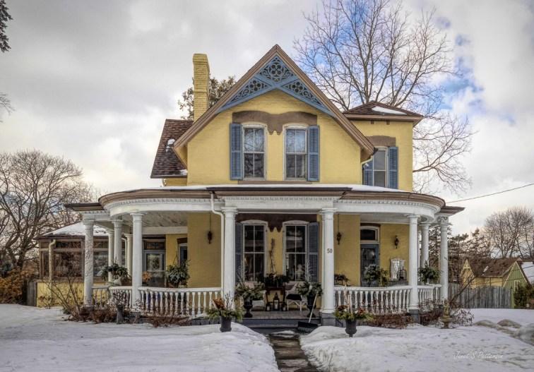 architecture, house, Uxbridge, 2020, winter