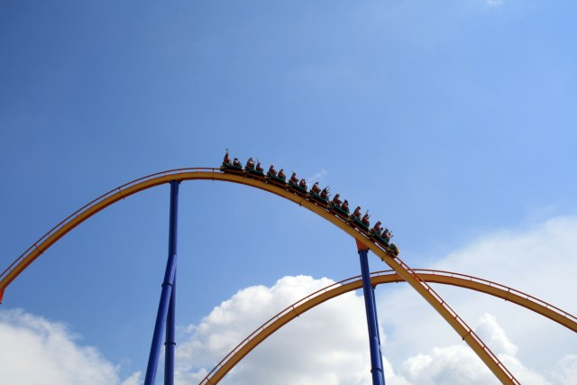 picture of a rollercoaster