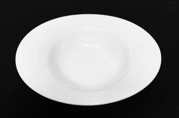 """Oval Rimmed Dish 7"""" x 6"""""""