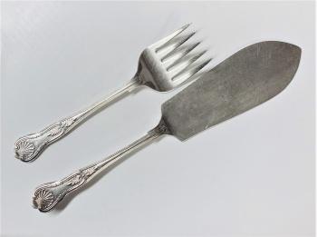 Fish Server Knife & Fork Set