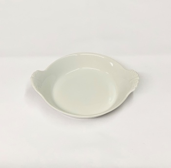 """Small Round Eared Butter Dish 4"""""""