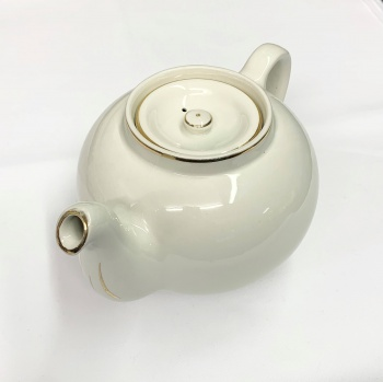 Gold Edged Teapot