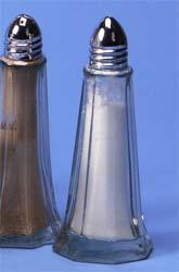 Glass Salt & Pepper Set