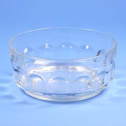 "Glass Trifle Bowl 8.5"""