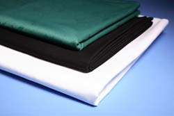 "White Square Tablecloth 48"""