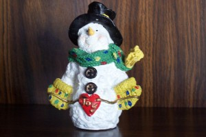 Clarence the snowman