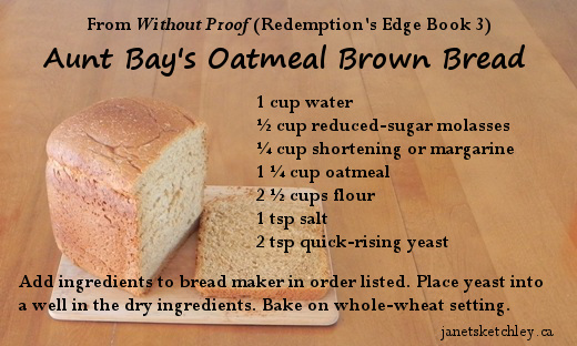 Oatmeal Brown Bread Recipe: to see the directions in print, follow the link to the Country at Heart Recipes post