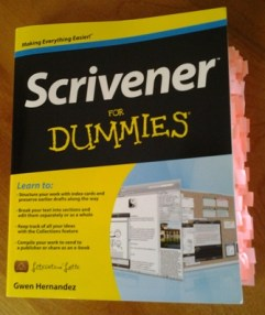 Scrivener for Dummies, by Gwen Hernandez