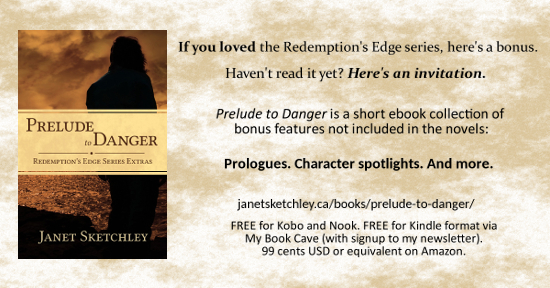 Prelude to Danger: bonus features ebook for the Redemption's Edge series