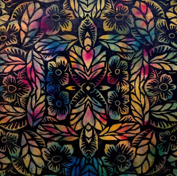 Jolies Fleurs (multicolor) by Janet Towbin