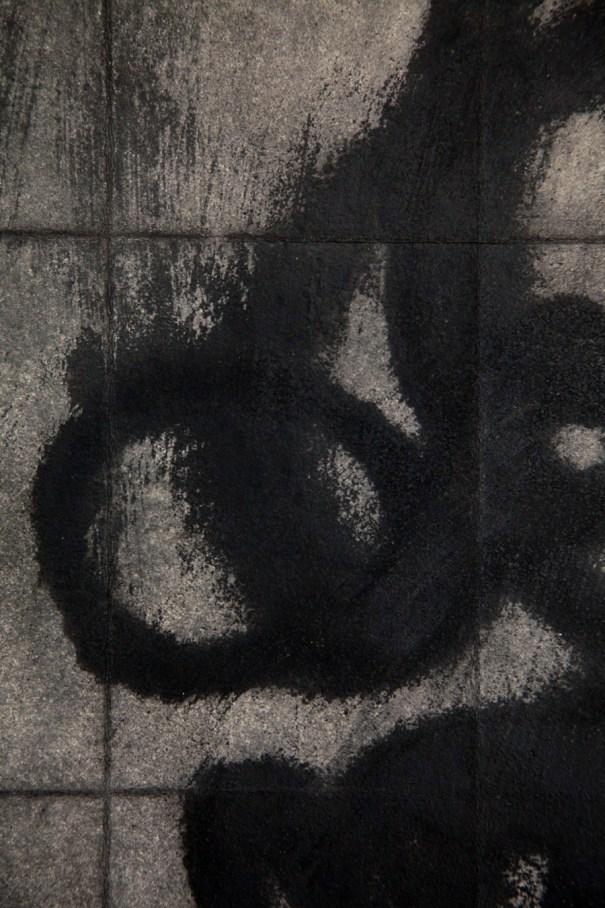 Urban Scrawl (detail)  by Janet Towbin