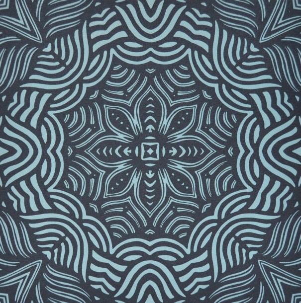 Print by Janet Towbin, Circle Swirl II,