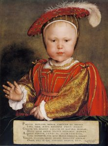 October 15, 1537 - Christening of the future Edward VI. Read more on www.janetwertman.com