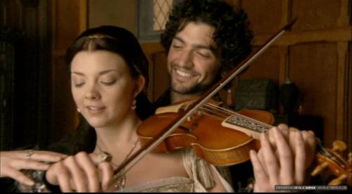 Mark Smeaton and Anne Boleyn