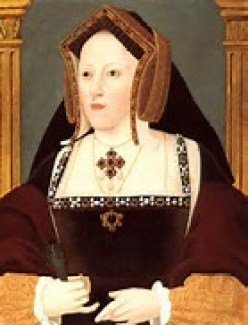 January 7, 1536 - Catherine of Aragon's last letter to Henry VIII. Now *this* is a deathbed letter! Read it on www.janetwertman.com