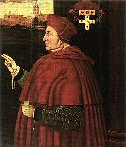 On September 10, 1515, Thomas Wolsey was made a cardinal. Read about the event and his downfall on www.janetwertman.com