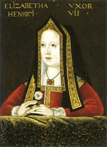 Elizabeth of York, by an unknown artist (Public Domain via Wikimedia Commons)