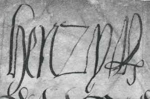 Signature of Henry VIII (via Open Government License from the National Archives)