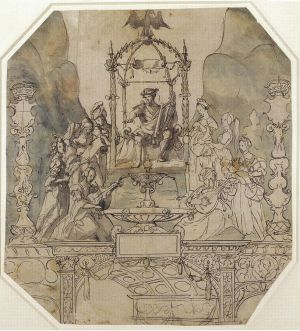 Holbein's Sketch for a Street Tableau
