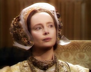 Elvi Hale as Anne of Cleves, from the BBC's Six Wives of Henry VIII (1972)