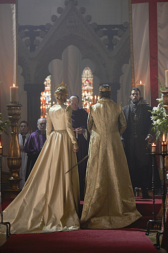The Wedding of Henry VIII and Katherine Parr, as portrayed on Showtimes' The Tudors